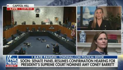 Katie Pavlich on Fox on the ACA 10/12