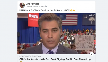 Porrazzo associated Facebook page