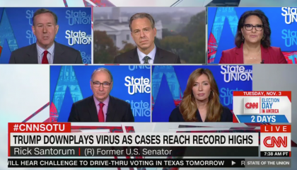 CNN's Rick Santorum misreads CDC study to claim masks don't work