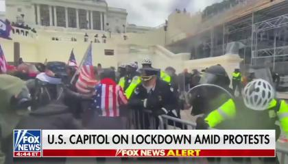 "Fox Calls mob ""protests"" 1/6"