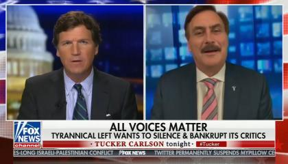 Tucker Carlson Mike Lindell