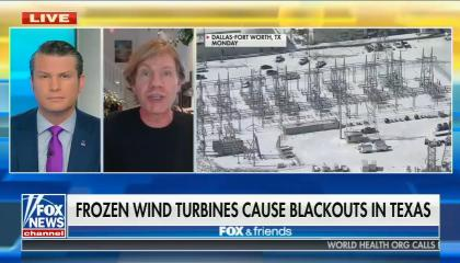 Fox News' Fox & Friends for February 16, 2021: Frozen wind turbines cause blackouts in Texas