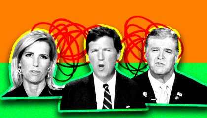Laura Ingraham, Tucker Carlson, Sean Hannity