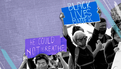 Image of Black Lives Matters Protesters