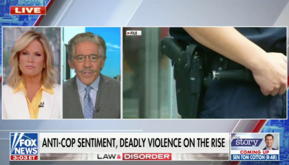 Fox News disingenuously blames rising crime on police reform efforts