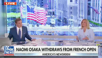 Right-wing media turn Naomi Osaka's announcement into a fight between the tennis pro and the press