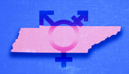 Tennessee has passed 5 laws so far this year that discriminate against trans people.