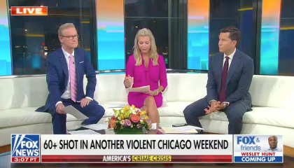 Fox & Friends co-host pits number of police shootings against number of police killed each year to promote the network's war on cops narrative
