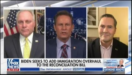 Brian Kilmeade and guests appearing on The Ingraham Angle