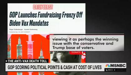 MSNBC's Chris Hayes rips into Fox's hypocrisy on vaccine mandates