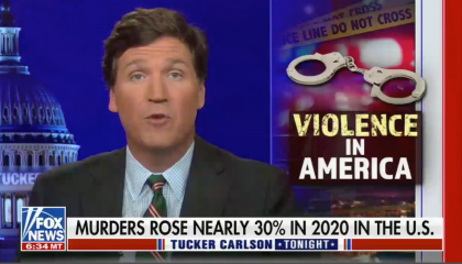Right-wing media erroneously use FBI crime report to blame murder spike on police reforms