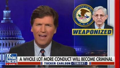 """Tucker Carlson tells viewers to """"fight and take back the schools"""""""