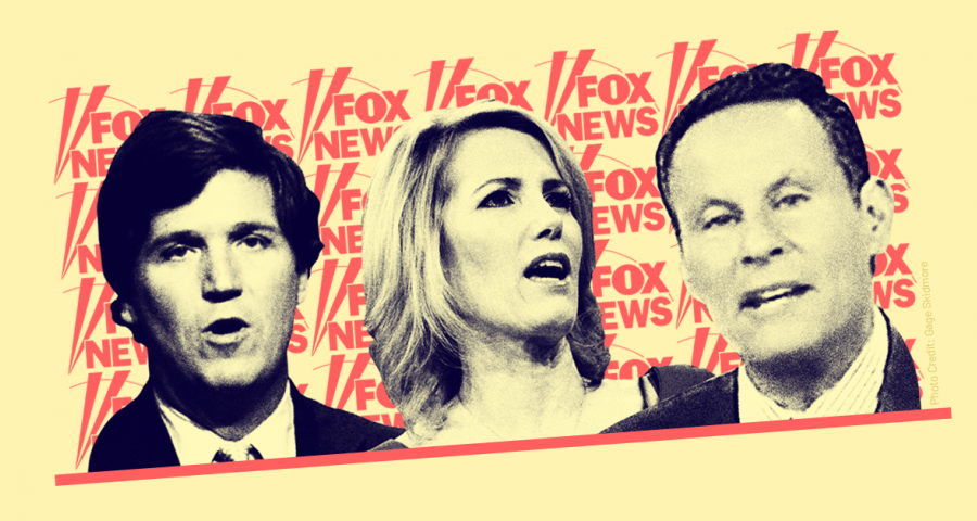 Fox hosts Laura Ingraham, Brian Kilmeade, and Tucker Carlson