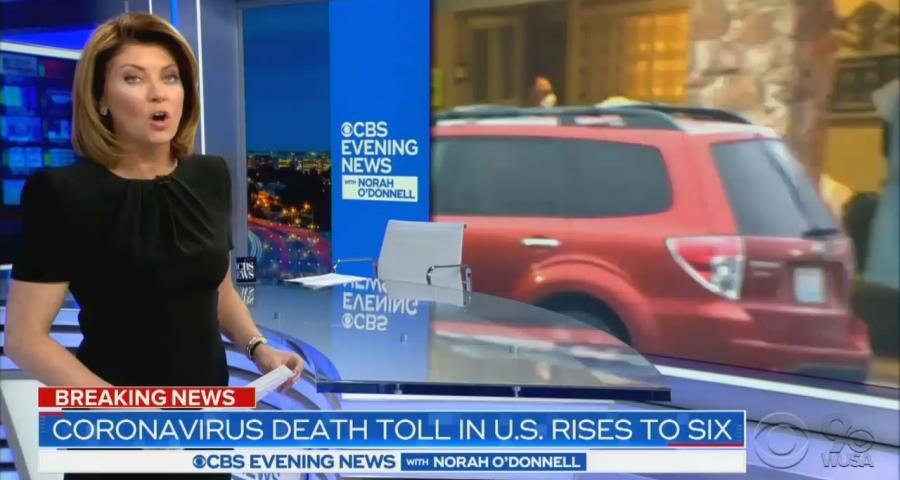 CBS Evening News anchor Norah O'Donnell