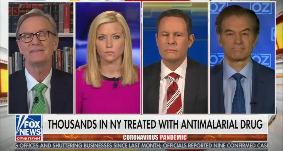 Fox and Friends hydroxychloroquine