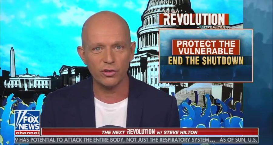 Fox News host Steve Hilton