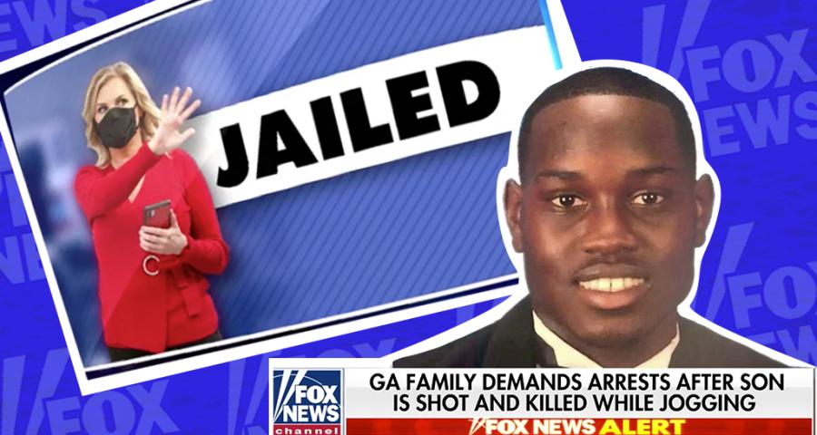 Fox News Ahmaud Arbery slain Shelley Luther jailed