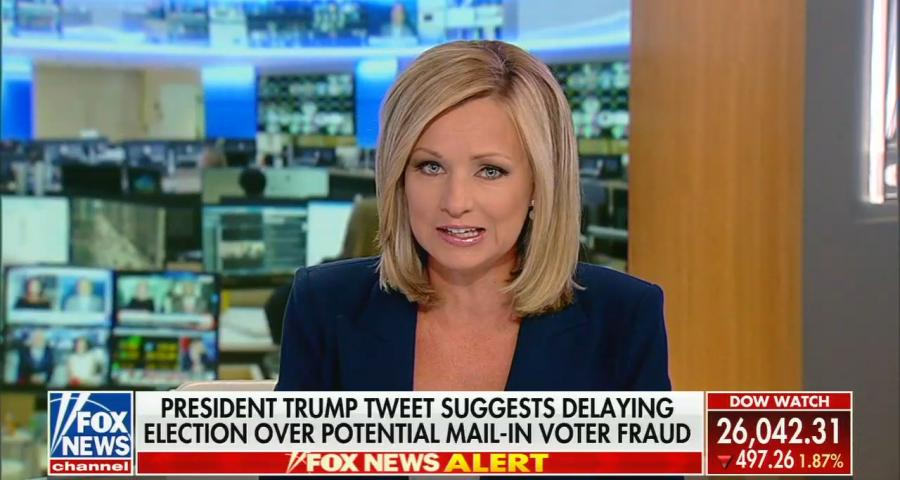 Fox News' America's Newsroom for July 30, 2020: Trump's tweet to delay election