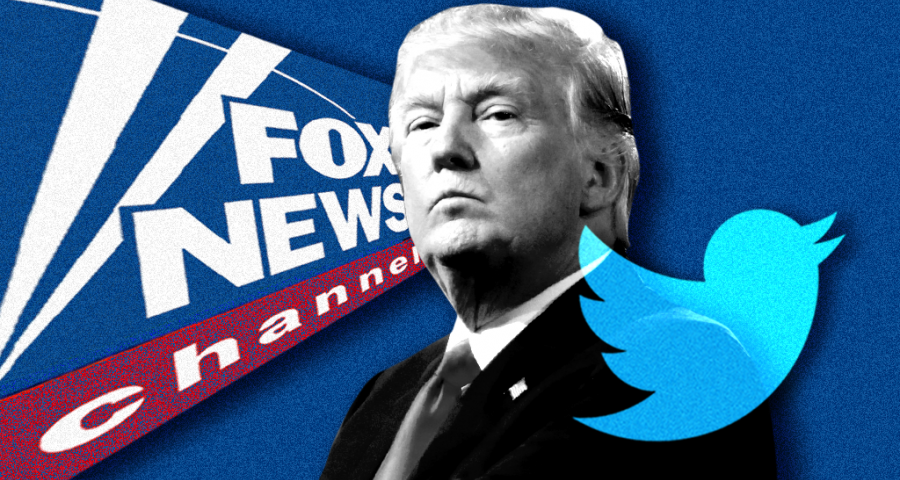Trump Fox live tweets