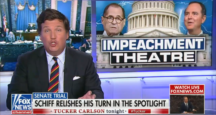 Tucker Carlson Tonight / Trump impeachment trial