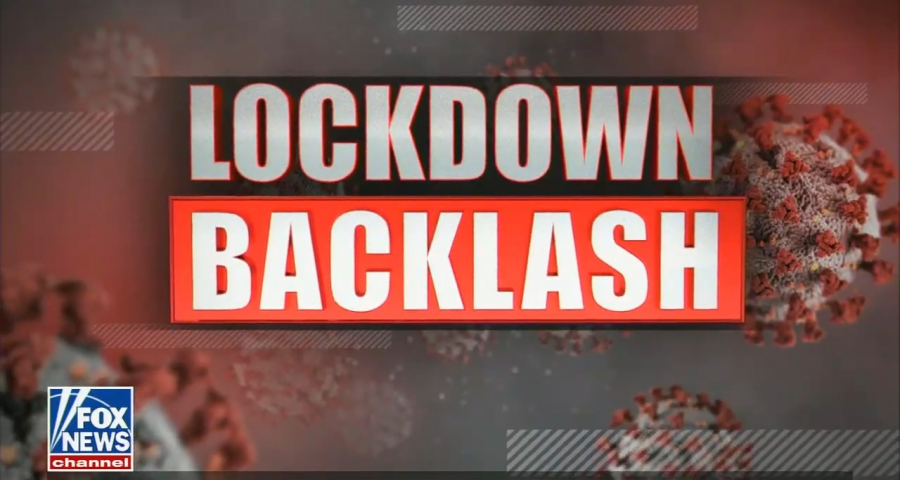Fox News coronavirus lockdown backlash