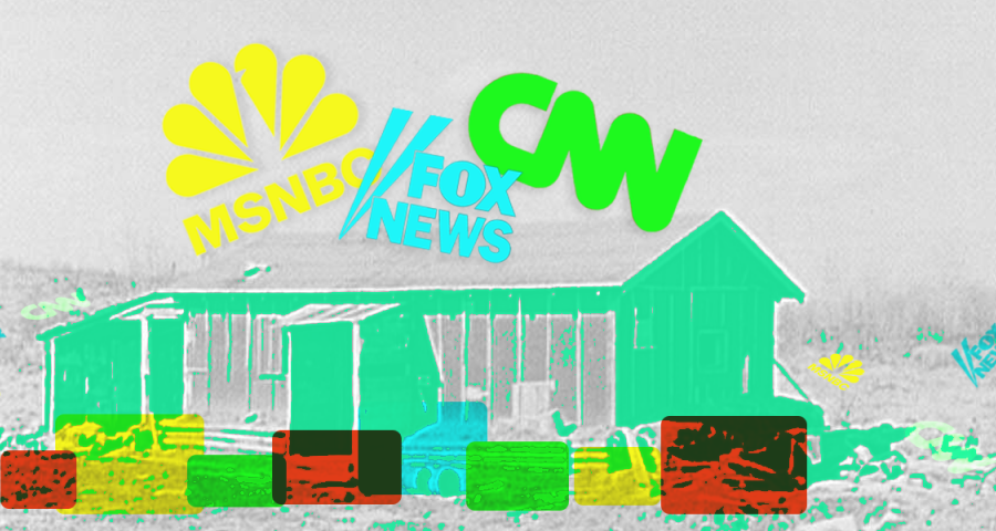 Cable news coverage of coronavirus eviction moratorium