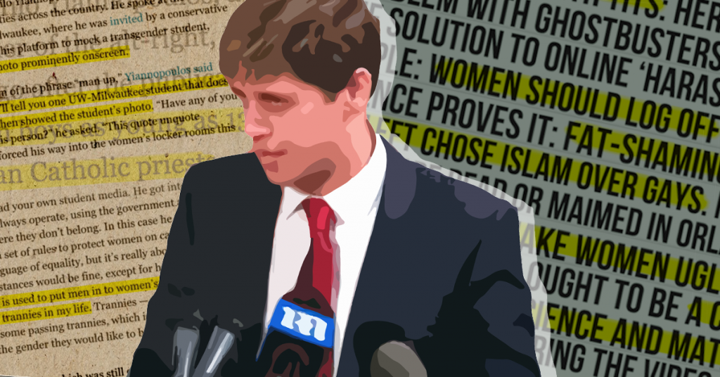 Tell Colleges: Don't Let Milo Yiannopoulos Harass Your Students