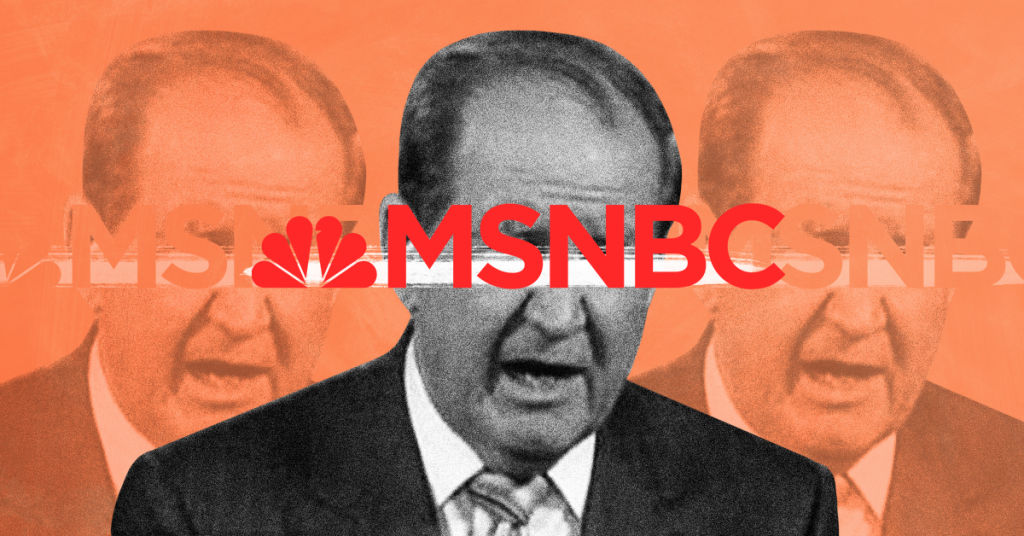 MSNBC: Sanction Pat Buchanan