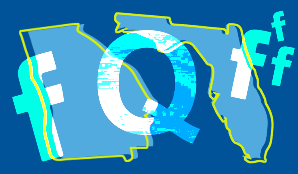GOP organizations in Florida and Georgia have been promoting QAnon on Facebook image