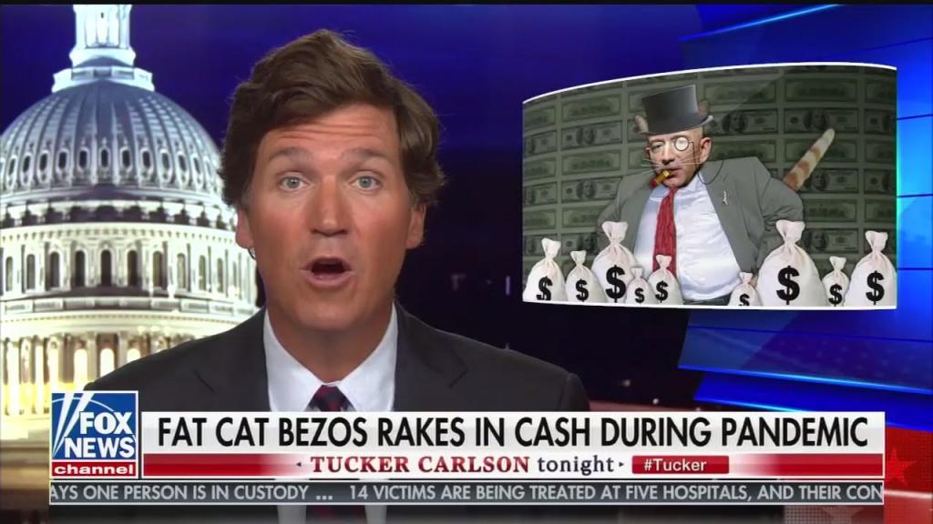 Tucker Carlson -- Jeff Bezos