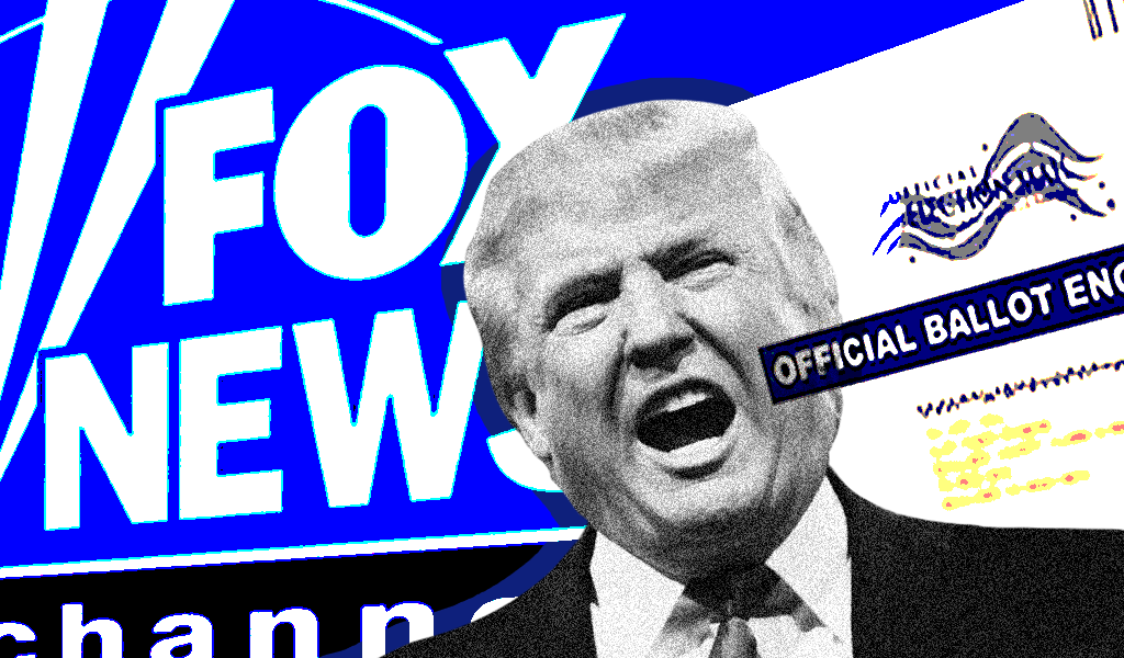 Trump mail in voting Fox News