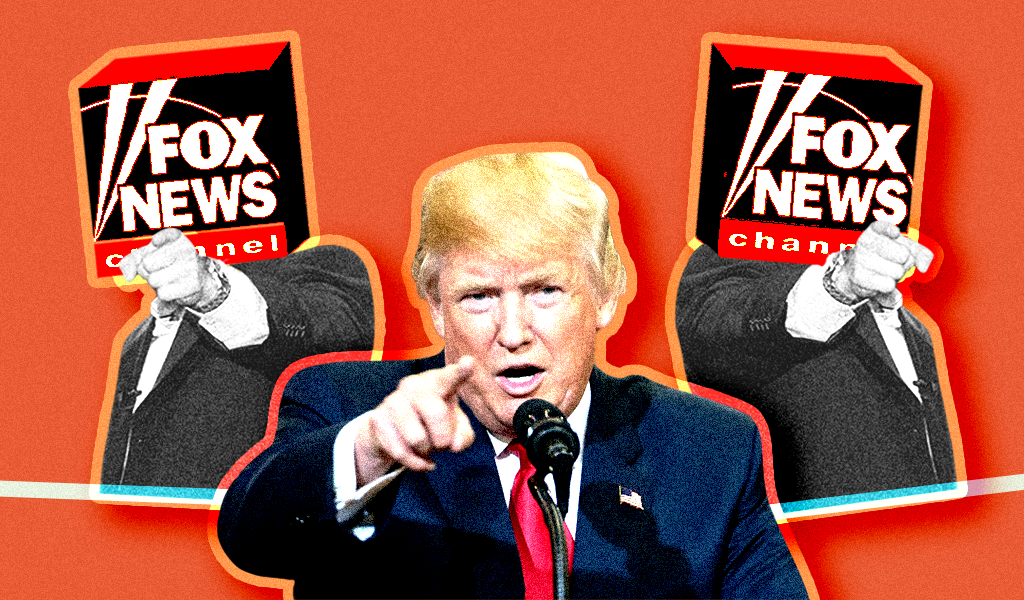Trump Fox fingerpointing