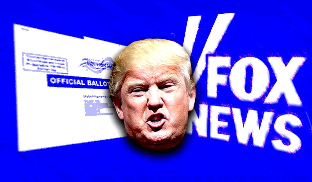 trump fox ballot