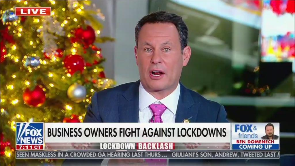 kilmeade business protests
