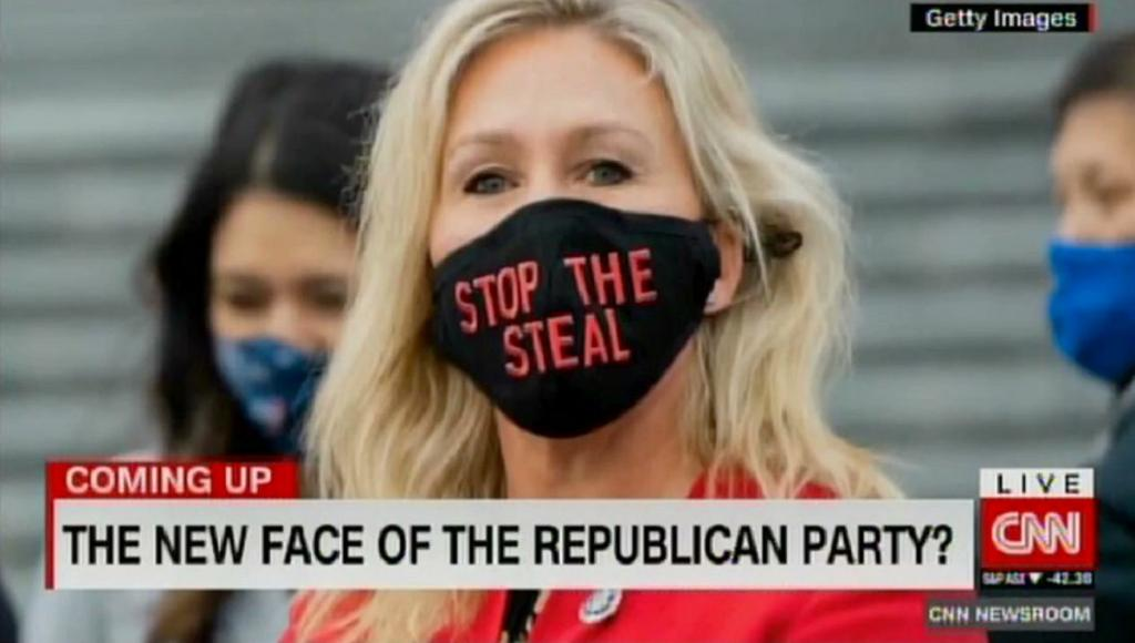 "CNN asks if Marjorie Taylor Greene is ""the new face of the Republican Party"""