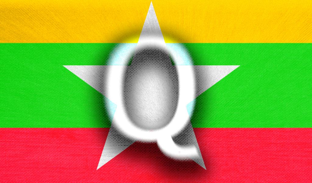 QAnon Myanmar