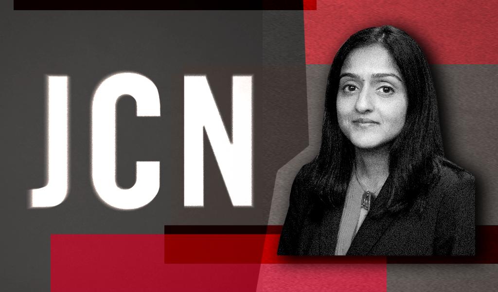 Gupta with JCN logo