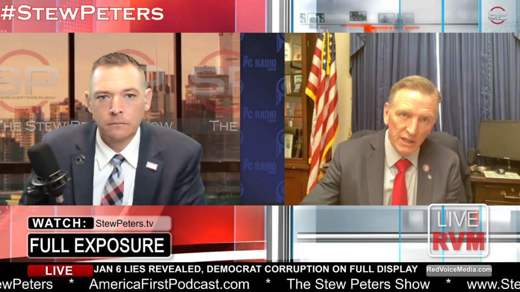 Rep. Paul Gosar on the Stew Peters Show