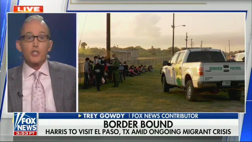 Fox News contributor Trey Gowdy