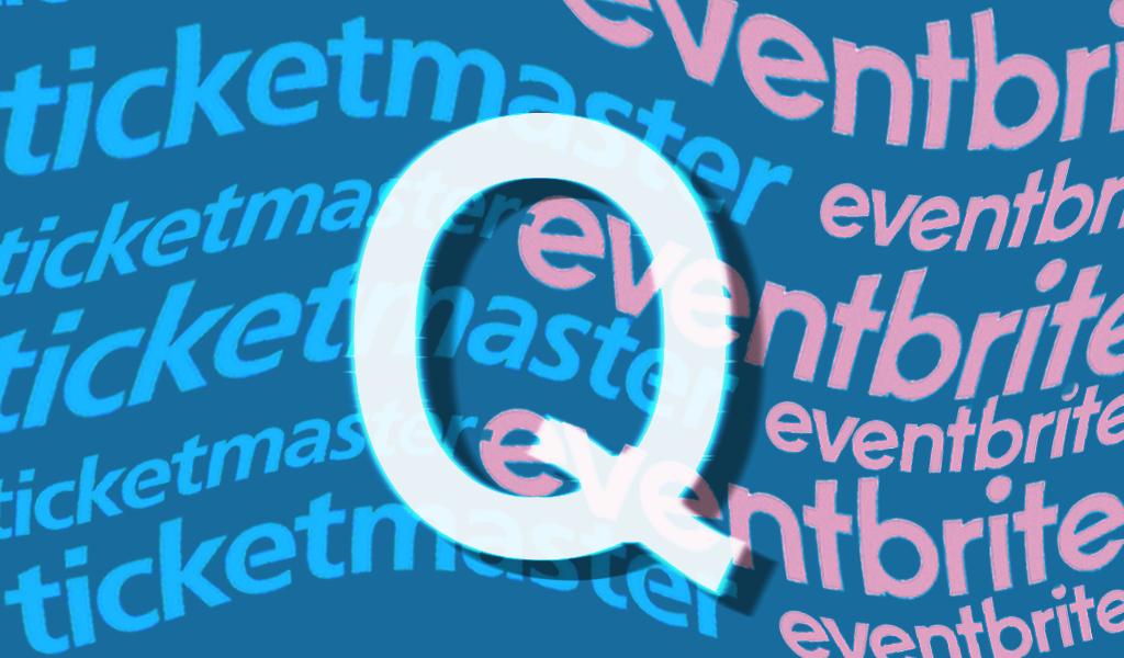 QAnon Ticketmaster Eventbrite