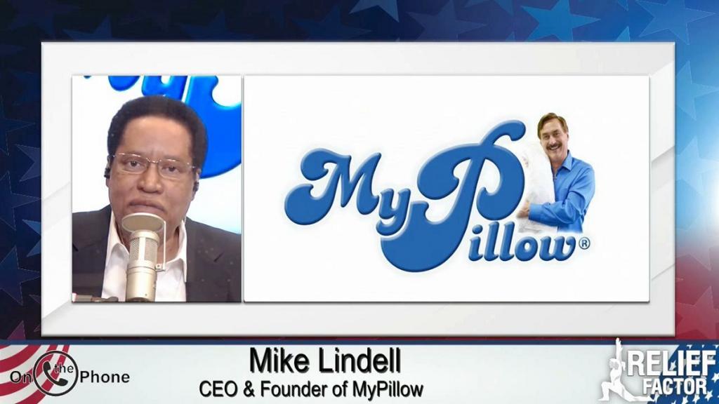 Larry Elder and Mike Lindell