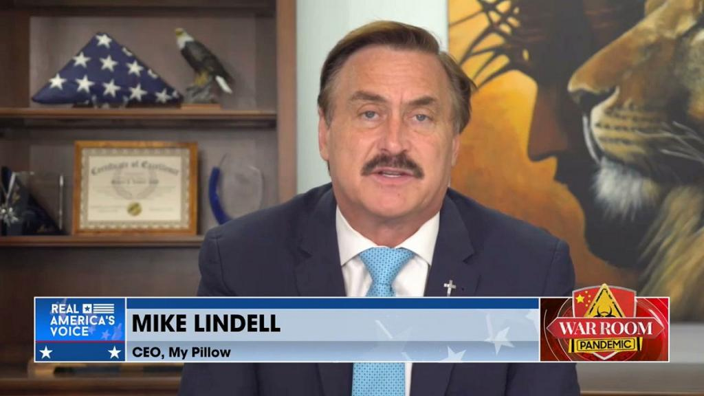 Mike Lindell on War Room: Pandemic