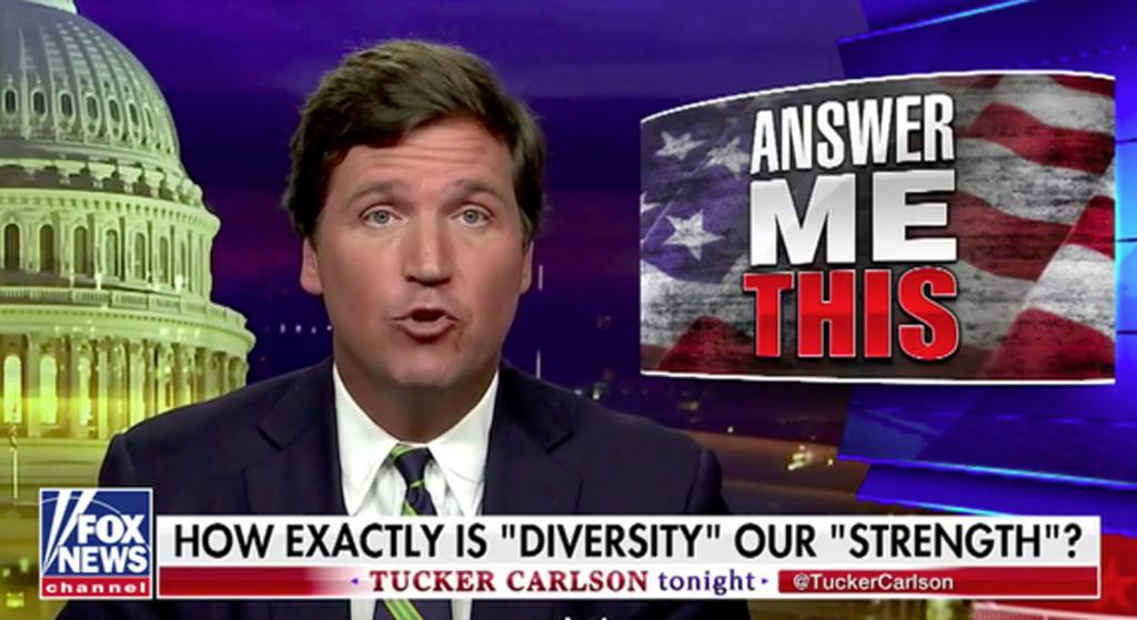 Tucker Carlson Diversity