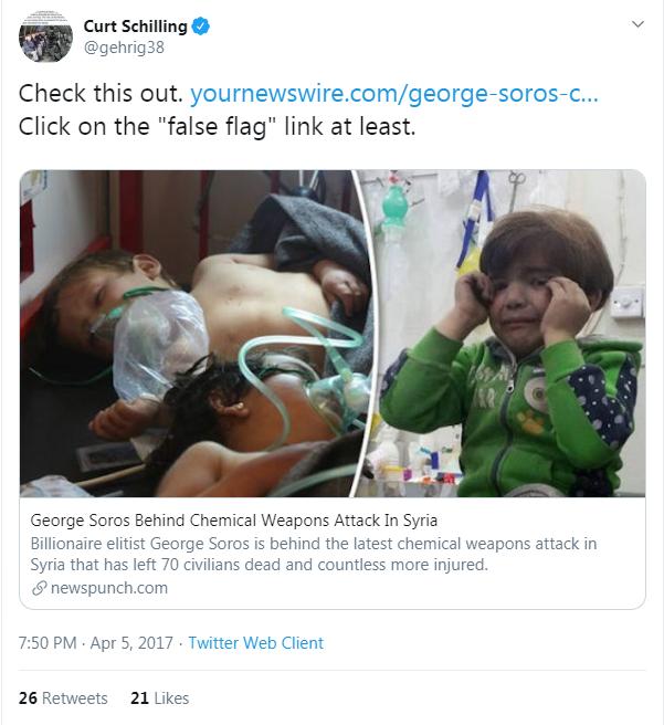Schilling YNW Soros tweet