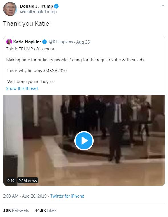 Trump Hopkins tweet2