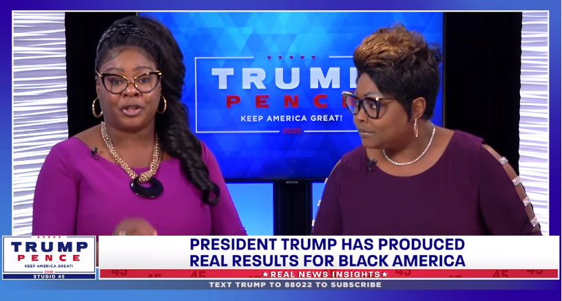 Diamond and Silk for the Trump campaign