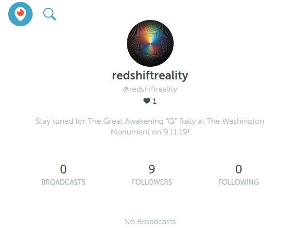 redshiftreality Periscope