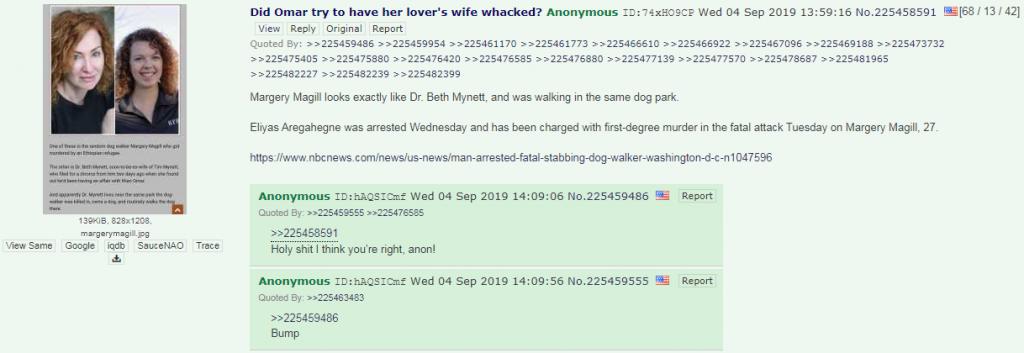4chan Omar conspiracy theory thread3