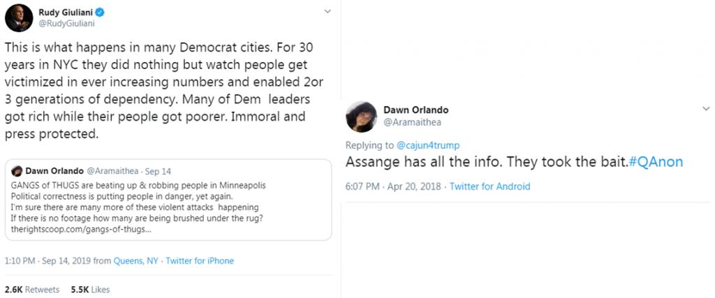 Giuliani Qanon tweet11