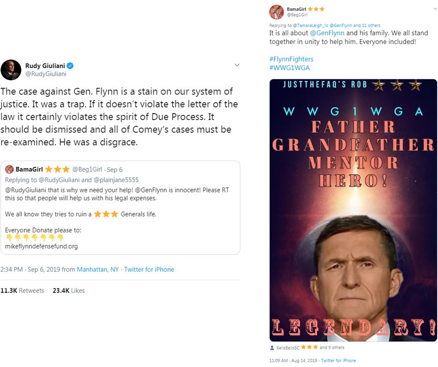 Giuliani Qanon tweet8